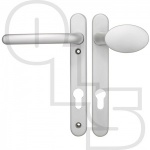 FAB & FIX WINDSOR UPVC/MULTIPOINT DOOR HANDLE - SPRUNG - MOVEABLE PAD/LEVER