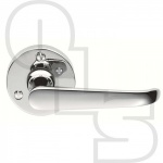 ASCOT LEVER ON ROUND ROSE HANDLE