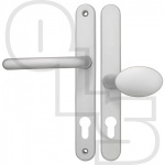 FAB & FIX BALMORAL UPVC/MULTIPOINT DOOR HANDLE - SPRUNG - LEVER/MOVEABLE PAD
