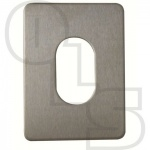 SOUBER UE1 LARGE STICK ON OVAL ESCUTCHEON