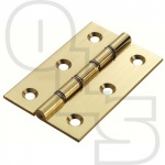 EUROSPEC DOUBLE STEEL WASHERED BUTT HINGE 102MM