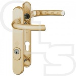 HOPPE ATLANTA PAS24 LEVER/LEVER MULTIPOINT DOOR HANDLES - 122mm SCREW CENTRES