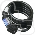 ABUS 1400 Illuminated Combination 12mm x 1.85m Cable Lock