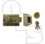 YALE STYLE BUDGET TRADITIONAL NIGHTLATCH WITH 60mm BACKSET