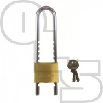 MASTER 1950 ADJUSTABLE BRASS PADLOCK