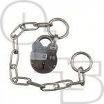 WALSALL FIRE BRIGADE FB1 PADLOCK WITH CHAIN