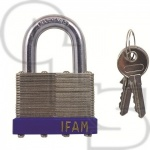 IFAM LAMINATED STANDARD SHACKLE PADLOCK