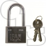 IFAM 85000 SERIES CHROME LONG SHACKLE PADLOCK