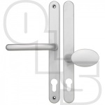 FAB & FIX BLENHEIM UPVC/MULTIPOINT DOOR HANDLE - SPRUNG - LEVER/MOVEABLE PAD