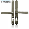 VERSA V-HANDLE ADJUSTABLE RETROFIT MULTIPOINT DOOR HANDLE