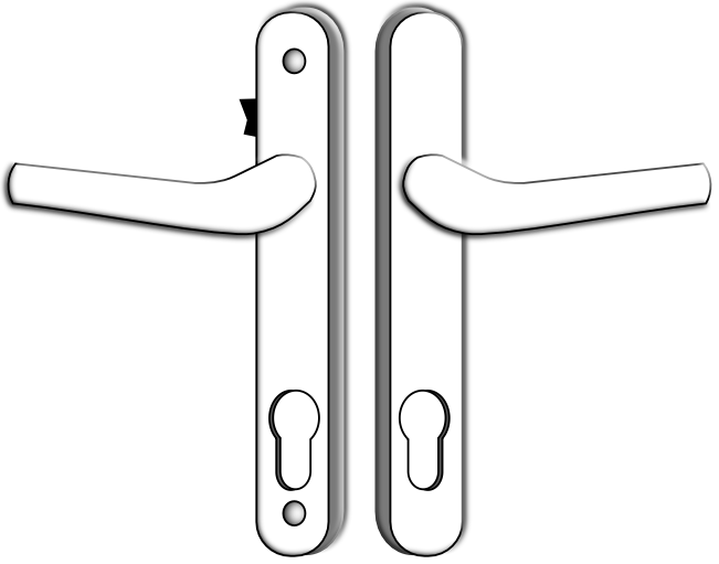 Multipoint Lock Handles - Handles with Snib