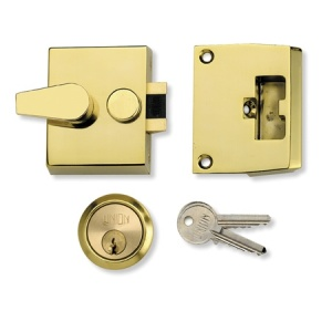 UNION 1037 AUTO DEADLOCKING NIGHTLATCH WITH 40mm BACKSET