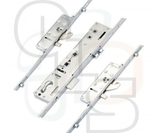 Lockmaster Multipoint Lock - 2 Hooks, 2 Anti-Lift Bolts & 4 Rollers - Single Spindle
