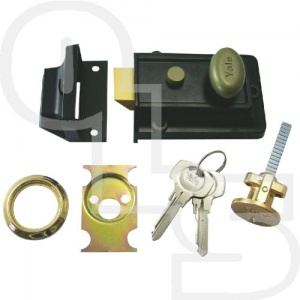 YALE 99Z TRADITIONAL NIGHTLATCH WITH 60mm BACKSET