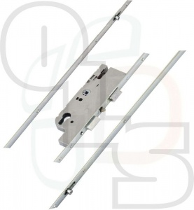 GU Ferco Fercomatic Multipoint Lock -  2 Rollers - 40mm Backset