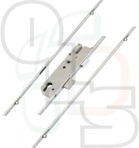 GU Multipoint Lock - 4 Rollers - 45mm Backset