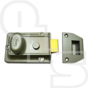 ASEC TRADITIONAL NIGHTLATCH WITH 60mm BACKSET