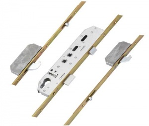 Mila Swift Compatible Multipoint Lock - 2 Rollers & 2 Hooks - Double Spindle