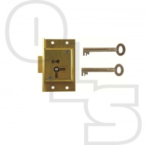 D2 4LEVER CUT CUPBOARD LOCK