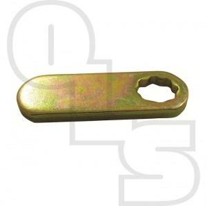 CAM LOCK STD STRAIGHT CAMS (8MM STAR PUNCH)