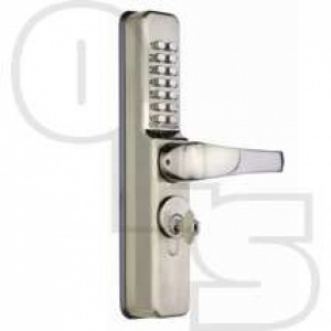 CODELOCKS CL0460 NARROW ALUMINIUM DOOR DIGITAL LOCK FOR SCREW IN CYLINDERS