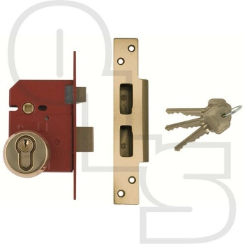 UNION BRITISH STANDARD EURO SASHLOCK - COMPLETE LOCKSET