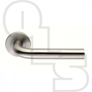 STRAIGHT LEVER ON ROUND ROSE FURNITURE 19MM