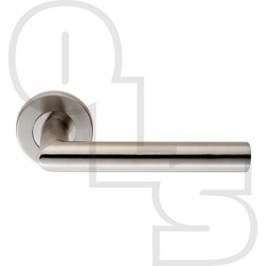 MITRED LEVER ON ROUND ROSE FURNITURE 19MM