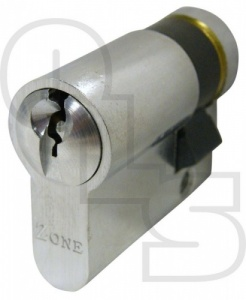 EXIDOR/ZONE OUTSIDE ACCESS EURO SINGLE CYLINDER(SCREW IN BACK)