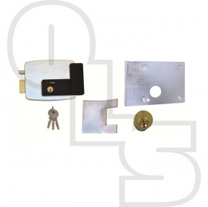 CISA 11823 ELECTRIC RIM LOCK FOR UP AND OVER GARAGE DOORS