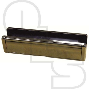 FAB & FIX NU-MAIL UPVC TELESCOPIC LETTERPLATE