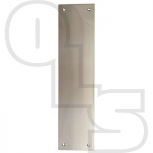 STAINLESS STEEL FACE FIX FINGER PLATES