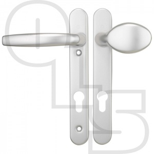 HOPPE TOKYO UPVC/MULTIPOINT DOOR HANDLE - UNSPRUNG - MOVEABLE PAD/LEVER