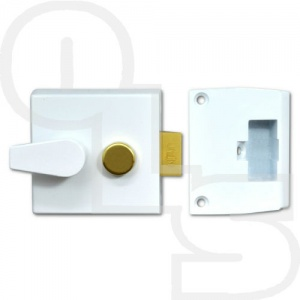 UNION 1026 STANDARD CYLINDER NIGHTLATCH WITH 50mm BACKSET