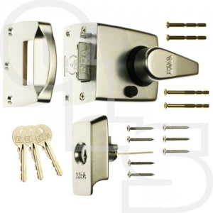 ERA 1730 HIGH SECURITY KEYLESS ESCAPE NIGHTLATCH WITH 60mm BACKSET
