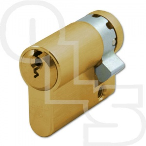 EVVA EPS HZ EURO PROFILE HALF/SINGLE CYLINDER FOR FIRE/SMOKE DOORS