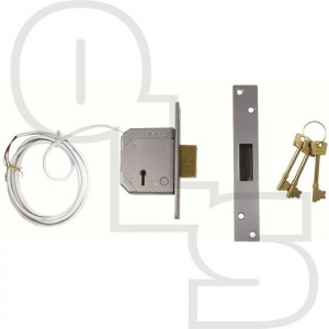 UNION 3G114E BRITISH STANDARD 5 LEVER DEADLOCK WITH MICROSWITCH FOR ALARM SYSTEMS