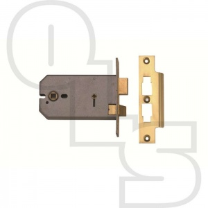 UNION 3 LEVER HORIZONTAL BATHROOM SASHLOCK