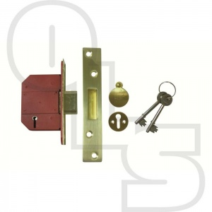UNION STRONGBOLT BRITISH STANDARD 5 LEVER DEADLOCK