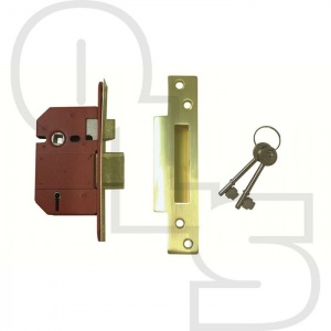 UNION STRONGBOLT BRITISH STANDARD 5 LEVER SASHLOCK