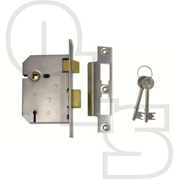 UNION 3 LEVER MORTICE SASHLOCK