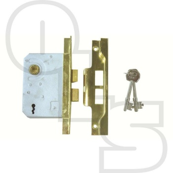 ERA REBATED 2 LEVER SASHLOCK