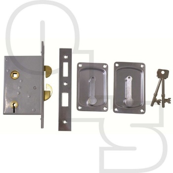 WILLENHALL  4 LEVER SLIDING DOOR HOOK BOLT