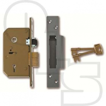 UNION 3K75 5 LEVER MORTICE SASHLOCK
