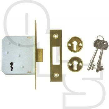 ERA 472/572 3 LEVER MORTICE DEADLOCK