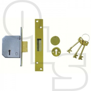 UNION 3G114E BRITISH STANDARD 5 LEVER DEADLOCK