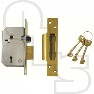 UNION 3K74E BRITISH STANDARD 5 LEVER MORTICE SASHLOCK