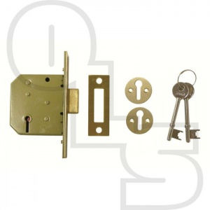 YALE PM322  3-LEVER MORTICE DEADLOCK