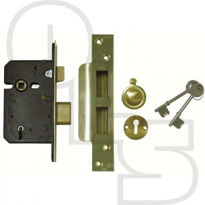 SECUREFAST BRITISH STANDARD 5 LEVER SASHLOCK