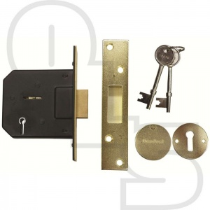 SECUREFAST CONTRACT 5 LEVER MORTICE DEADLOCK